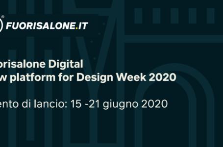 Tutti pronti per il Fuorisalone 2020 in formato digital