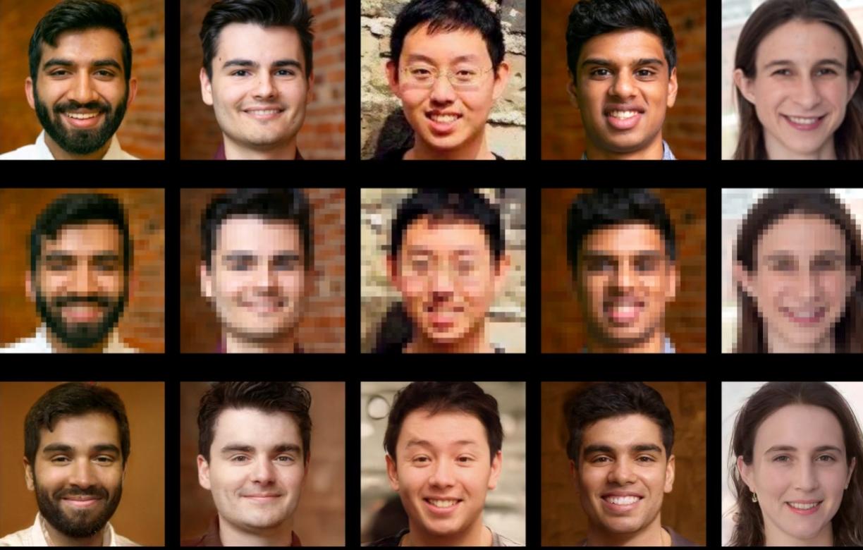 PULSE, l'algoritmo che ricrea i volti da foto sfocate