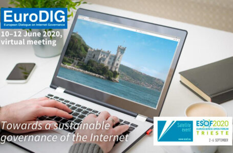 A ESOF2020 Trieste va in scena EuroDIG, European Dialogue on Internet Governance