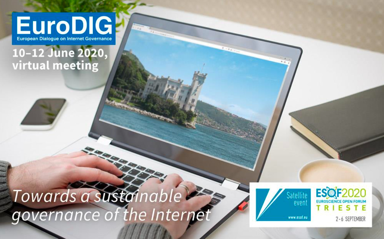 A ESOF2020 Trieste va in scena EuroDIG, European Dialogue on Internet Governance