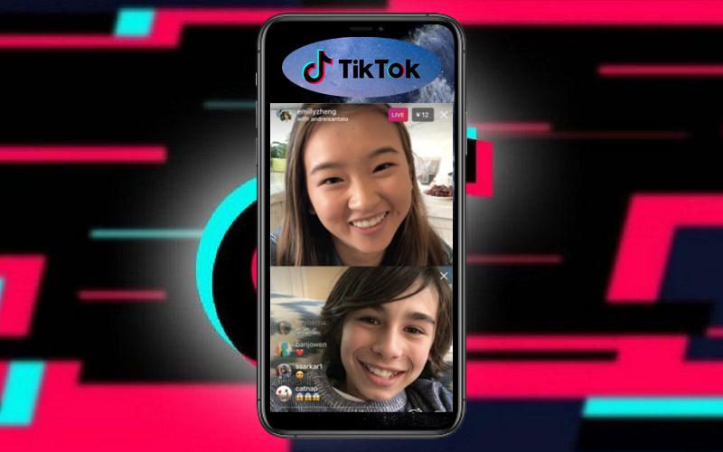 TikTok promuove le live… anche a con due utenti in contemporanea