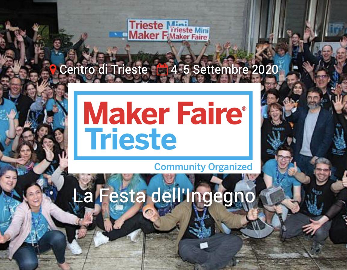 L'intervista a Carlo Fonda sulla Maker Faire Trieste 2020