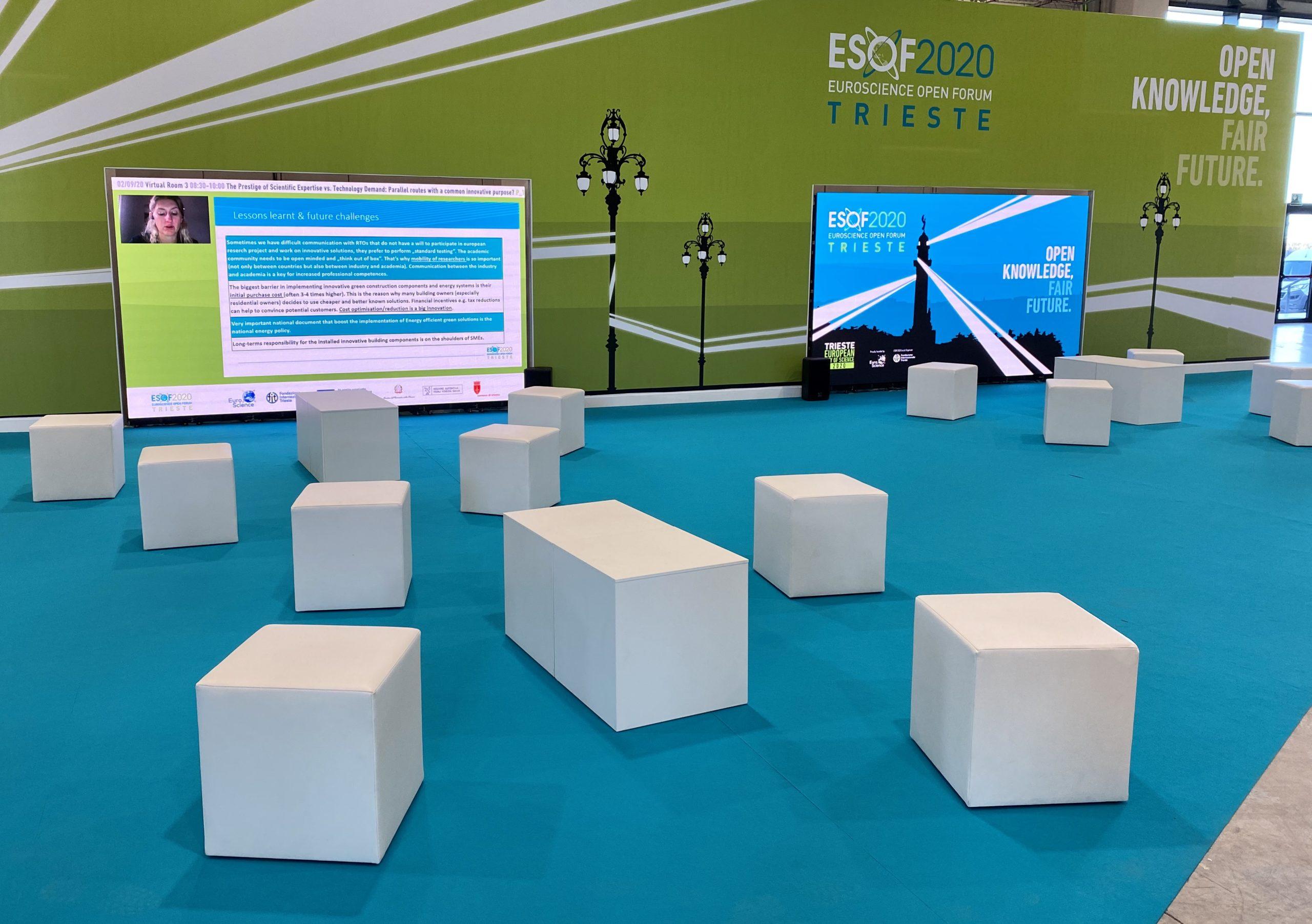Il live da Trieste della cerimonia inaugurale di ESOF2020