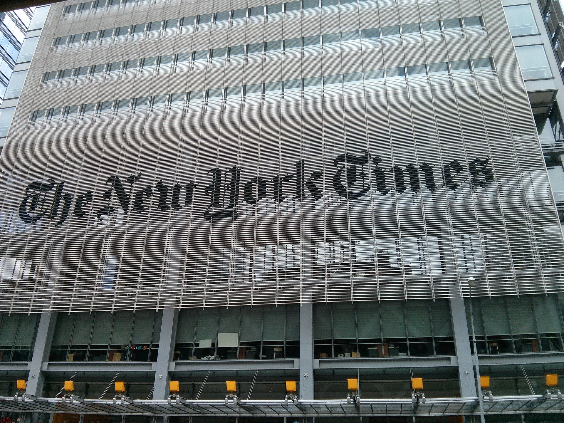 The New York Times : il primo quotidiano newyorkese festeggia 166 anni