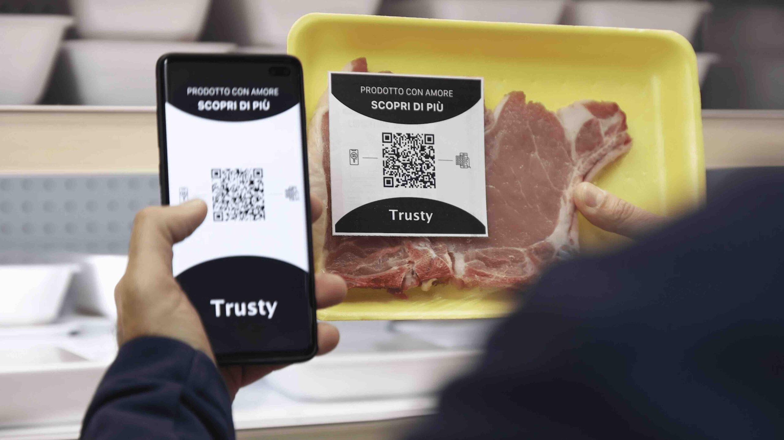 Trusty, la piattaforma blockchain per i prodotti alimentari