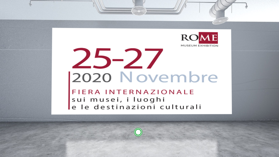 RO.ME – Museum Exhibition 2020, la fiera tutta in digitale