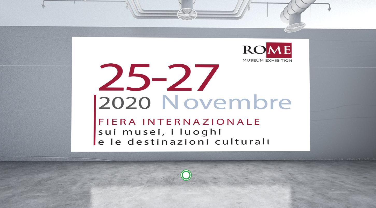 RO.ME – Museum Exhibition 2020, la fiera tutta in digitale