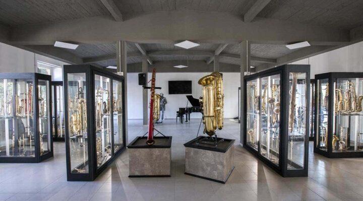 Museo del Saxofono - Piccoli musei narranti