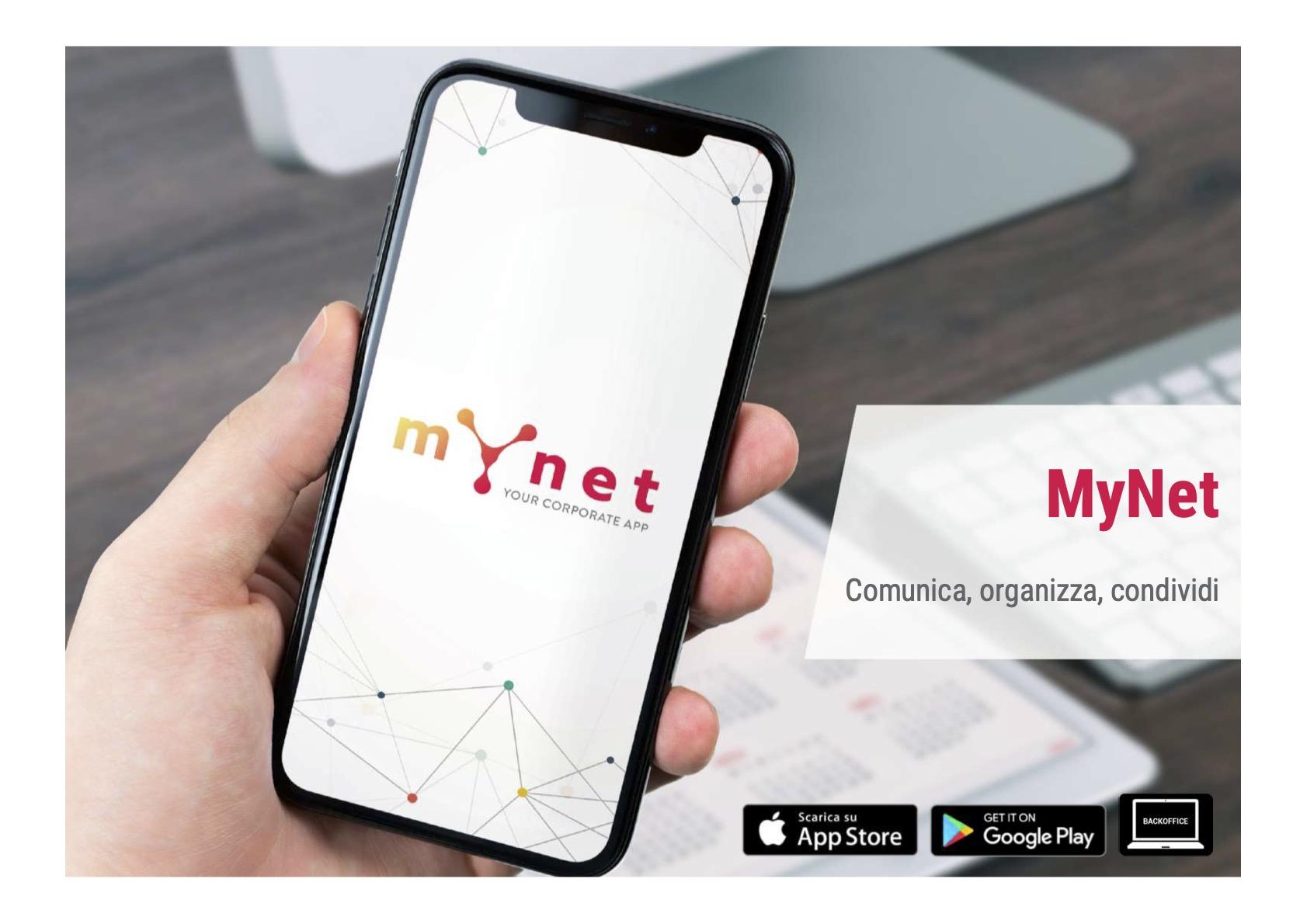 MyNet la App per la gestione delle risorse umane
