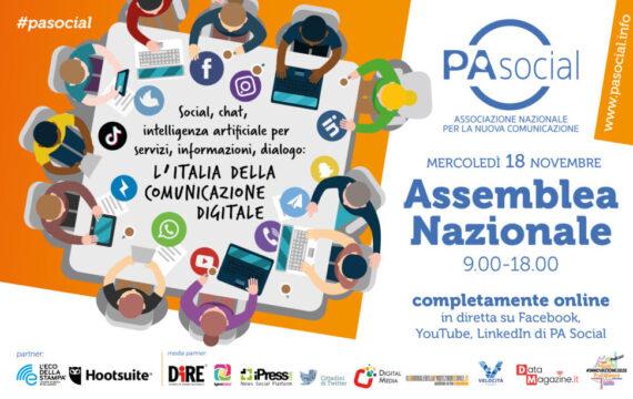 La diretta dell'assemblea nazionale di PA Social