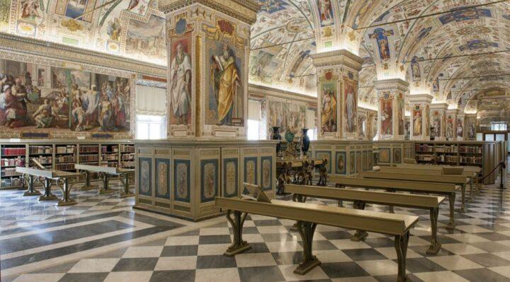Biblioteca Vaticana Salone Sistino