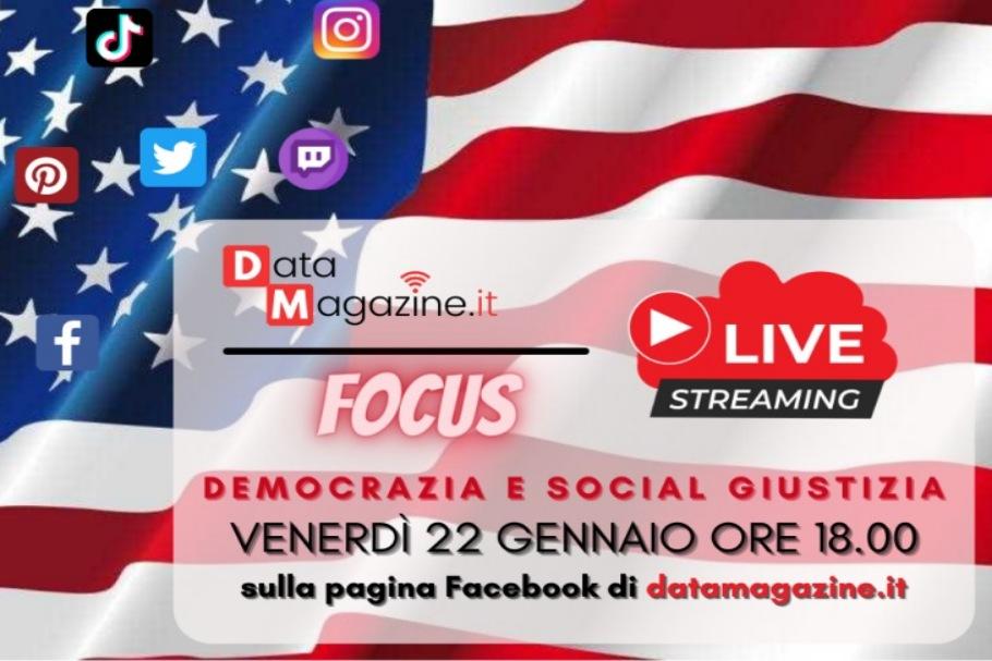 Focus Live. La serie di approfondimenti in diretta da DataMagazine.it