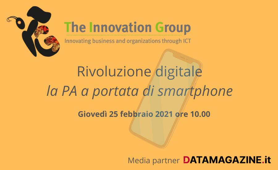 Rivoluzione digitale: la PA a portata di smartphone