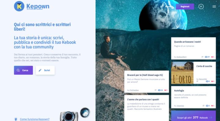 Scoperto Kepown: il nuovo Pianeta social degli scrittori