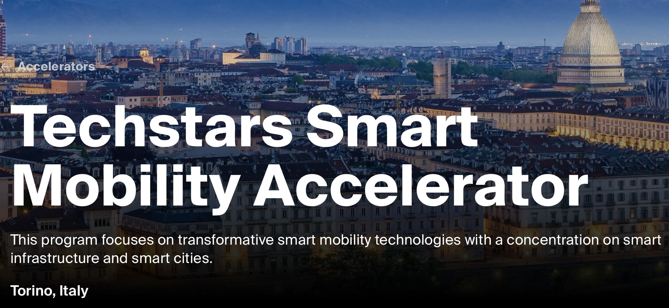 Torino capitale della smart mobility con Techstars