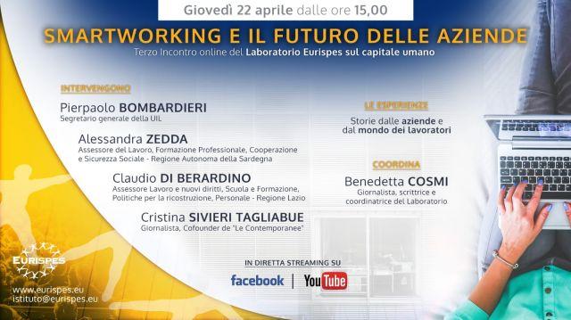 Terzo Incontro del Laboratorio Eurispes sul capitale umano