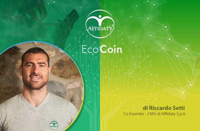 EcoCoin by Affidaty: ripartire in modo sostenibile con la Blockchain