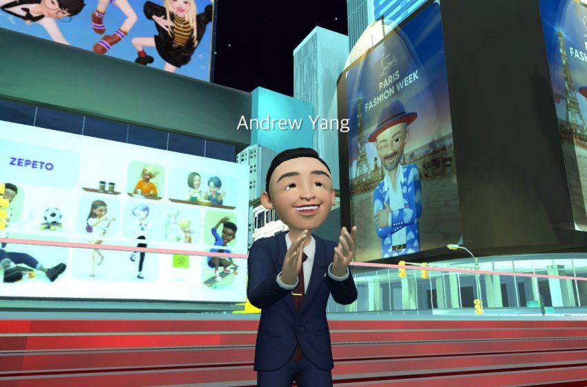 Il candidato sindaco di New York diventa un avatar nel metaverso