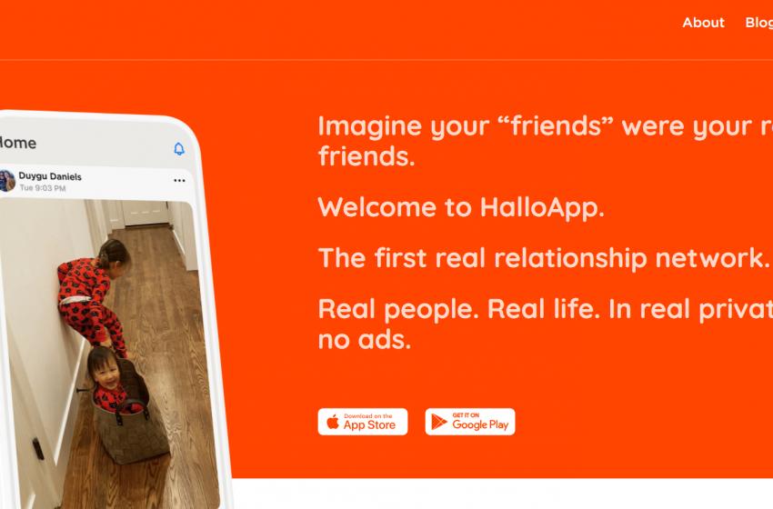 Arriva HalloApp il nuovo social dei primi dipendenti di WhatsApp