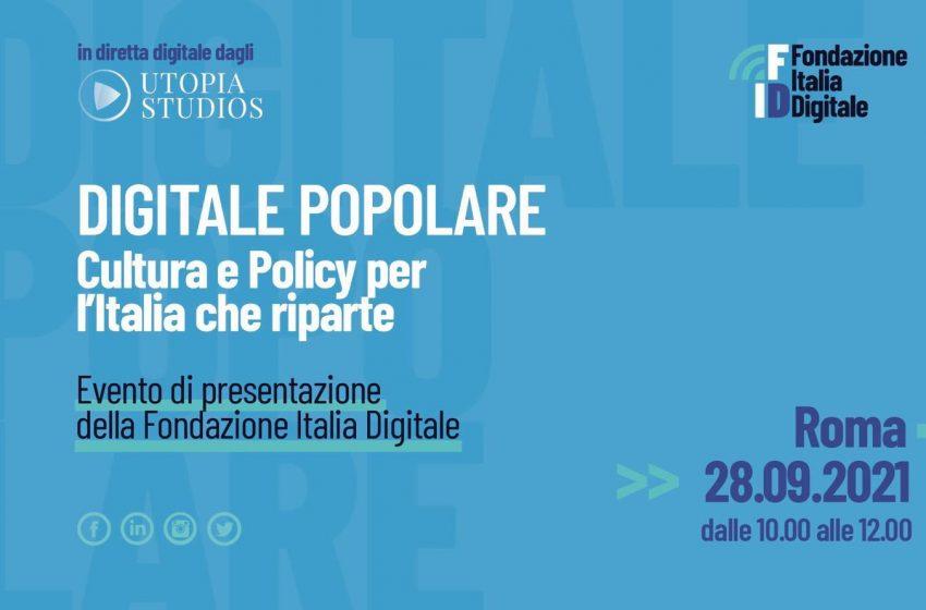 Presentazione della Fondazione Italia Digitale oggi 28 settembre