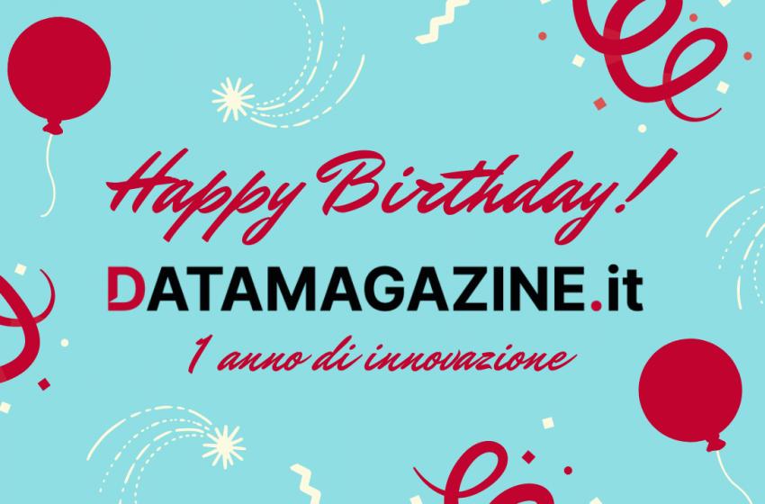 Auguri datamagazine.it: un anno di innovazione